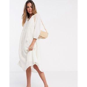 NWT Vero Moda smock midi dress Sz small